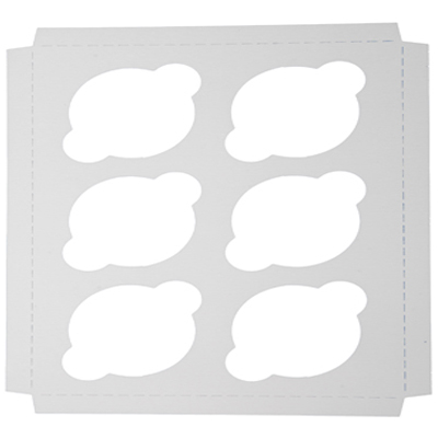 cupcake insert – 6 regular