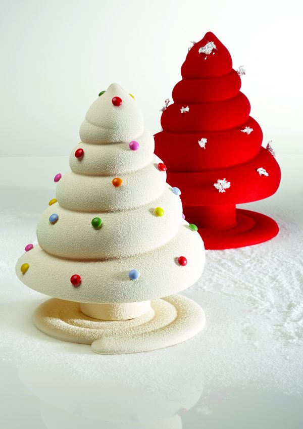3d Christmas Tree Chocolate Mold for custom chocolates