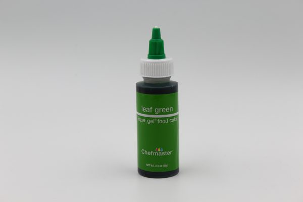 Leaf Green Chefmaster liqua Gel for decorating buttercream, cakes and cookies