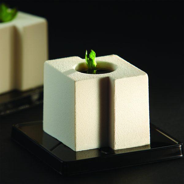 Cube Individual Dessert Mold for modern dessert