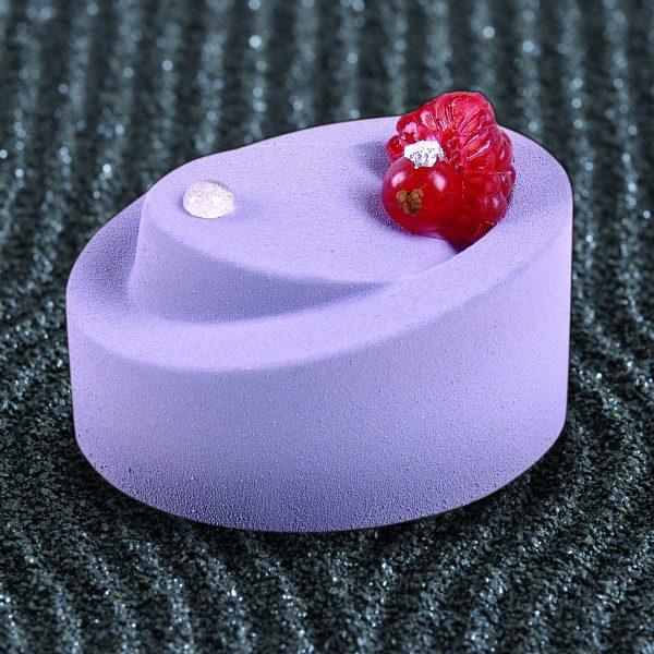 Round Individual Dessert Mold for modern dessert
