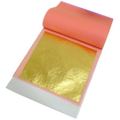 Edible Gold leaf for cakes, chocolates, cookies and cupcakes
