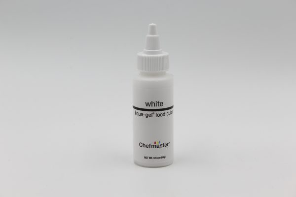 white gel colour, chefmaster