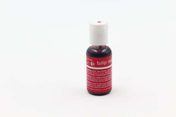 chefmaster Gel food colour in tulip red