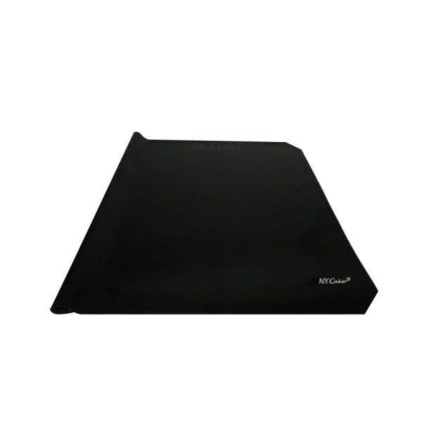 """fondant mat size 36"""" by 24"""" to roll out fondant, cookie dough, pie dough to prevent sticking to table. Black in colour"""