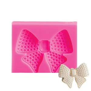 silicone bow mold. perfect for fondant