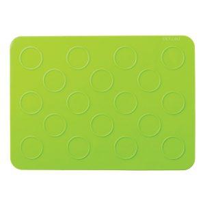 mini macaron silicone mat . 18 cavities