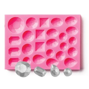 gem mold to use with chocolate, isomalt and gumpaste